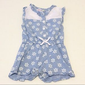 Other - Lemon Kiss Floral Romper